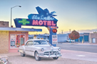 Motel Stop - Haze by Alan Copson