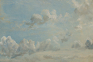 Study of Cumulus Clouds, 1822 by John Constable