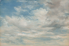 Clouds, 1822 by John Constable