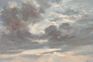 Cloud Study - Stormy Sunset by John Constable