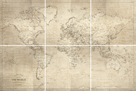 Hamilton's World Map - Set by Maria Mendez