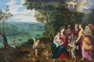 The Rest on the Flight to Egypt I by Pieter Brueghel the Younger