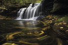 Waterfall Ripples by Michael Greene