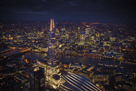 London Vista - The Shard by Jason Hawkes
