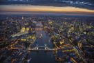 London Vista - The Rush by Jason Hawkes