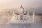 Taj Mahal Haze by Michele Falzone