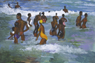 Sea Bathers Maracus by Boscoe Holder