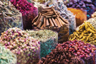 Spices For Sale At The Souk by Matteo Colombo