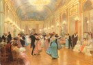 An Elegant Soiree by Victor Gabriel Gilbert