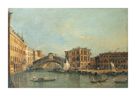 The Rialto Bridge by Antonio Canaletto