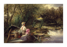 Young Anglers by Charles James Lewis