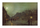 Going Home at Dusk by John Atkinson Grimshaw