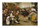 The Peasant Dance by Pieter Bruegel the Elder