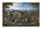 Country Wedding by Pieter Bruegel the Elder