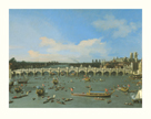 Westminster Bridge, London by Antonio Canaletto