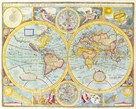 A New and Accurat Map of the World, 1627-1651 by John Speed