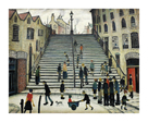 Steps at Wick by L.S. Lowry