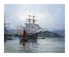Pagoda Anchorage II by Montague Dawson