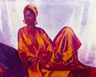 Sheila in Gold by Boscoe Holder