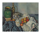 Still Life with Ginger Jar, Sugar Bowl and Apples by Paul Cezanne