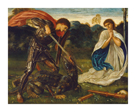 The Fight - St George Kills the Dragon VI by Sir Edward Burne-Jones