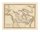British North America, 1829 by Sydney Hall