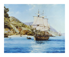 Pirates Cove by Montague Dawson