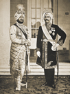 Two Sikh Princes of the Punjab, 1918 by The Chelsea Collection