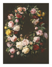 Garland Of Flowers by Henriette de Longchamp
