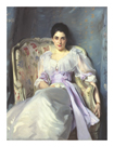 Lady Agnew Of Lochnaw by John Singer Sargent