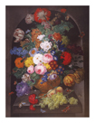 Alcove Flowers and Fruit by J.B. Drechsler