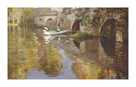 The Bridge at Grez, 1900 by Sir John Lavery