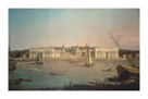 Greenwich from The Isle Of Dogs by Antonio Canaletto