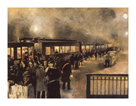 The Night Train by Friedrich Stahl