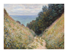 Road at La Cavee, Pourville, 1882 by Claude Monet