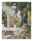 The Gardens at the Sorolla Family House by Joaquín Sorolla y Bastida