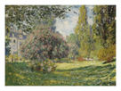 Le Parc Monceau by Claude Monet