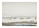 The Estuary, 1956-9 by L.S. Lowry