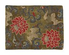 Embroidered 17th Century Fabric by Oriental School