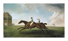 Racing at Newmarket by George Stubbs