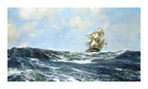 Cracking On! by Montague Dawson