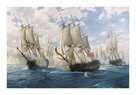 Battle of Chesapeake, 5th September 1781 by Steven Dews
