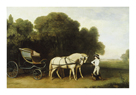 A Phaeton by George Stubbs