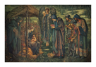 The Star of Bethlehem by Sir Edward Burne-Jones