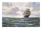 The Silvered Way by Montague Dawson