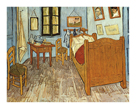 The Bedroom by Vincent Van Gogh