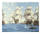 The Battle of Trafalgar by Montague Dawson