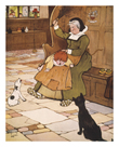 Spare the Rod by Cecil Aldin