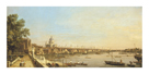 The Thames from the Terrace of Somerset House by Antonio Canaletto