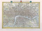 A Plan of London and its Environs, 1831 by Samuel Lewis